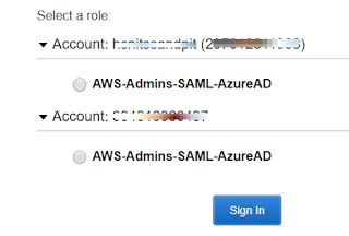 Setup SSO Access to AWS Console with Azure AD