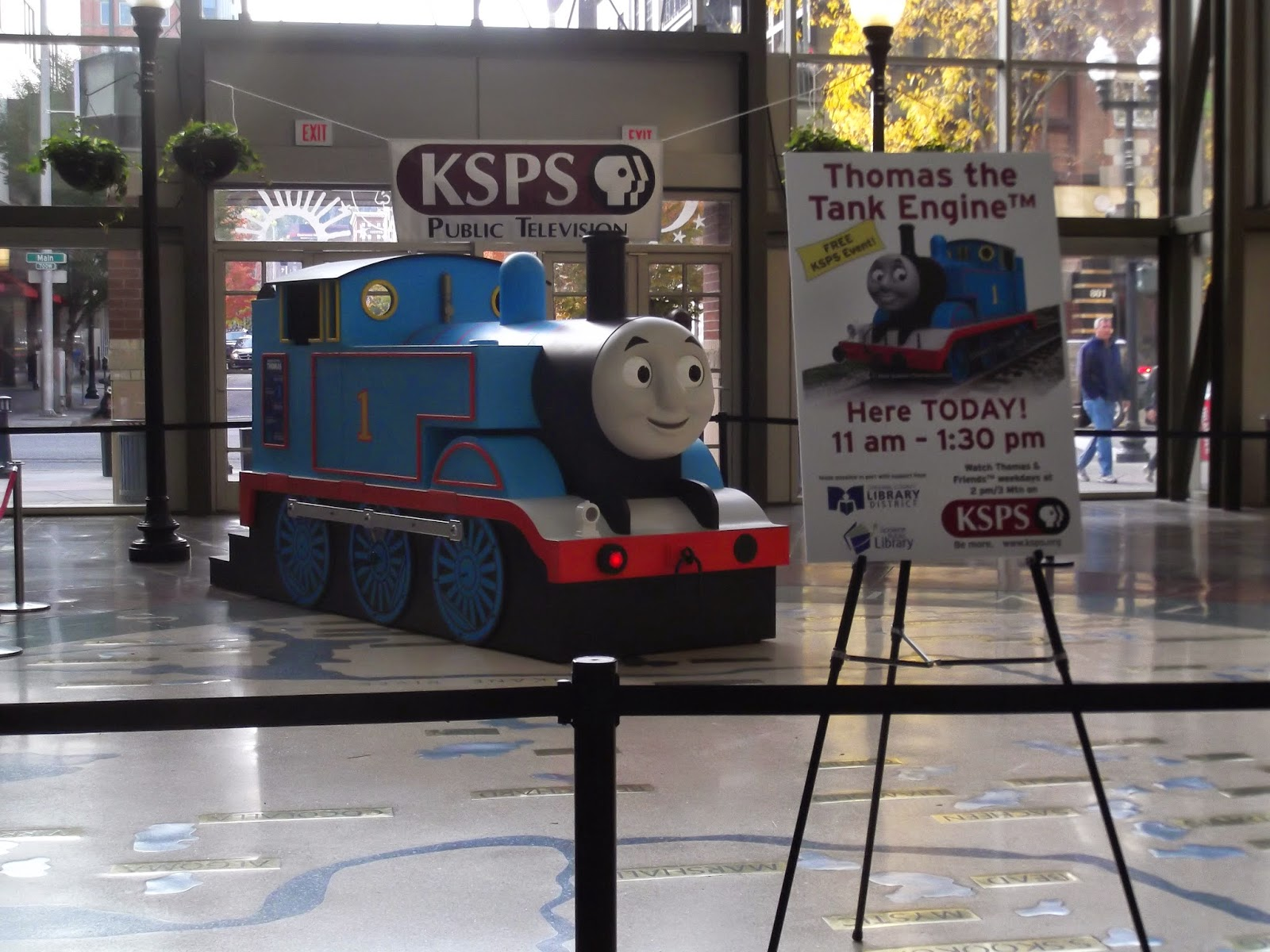 Storytimes and More: Thomas the Tank Engine