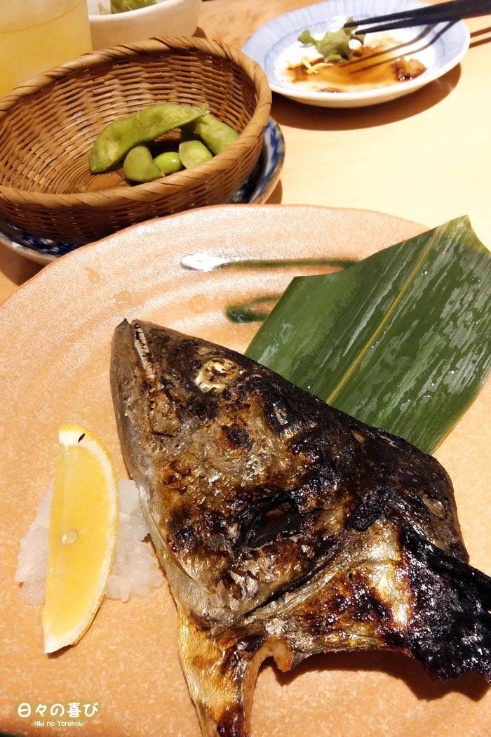 poisson grillé, izakaya, Tokyo