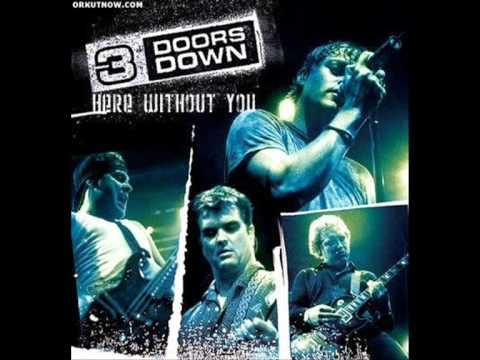 3 Doors Down Here Without You Guitar Chords Lyrics Kunci Gitar