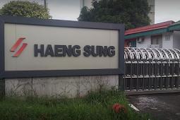 Lowongan Terbaru MM2100 D3 Marketing PT. Haeng Sung Raya Indonesia Cikarang