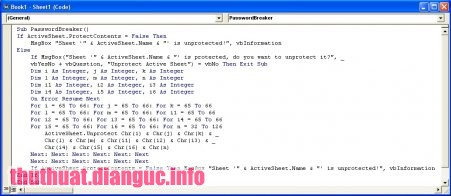 tie-smallCách phá Password Excel không cần phần mềm