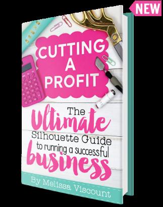Silhouette cameo for business help ideas tutorials silhouette school book portrait