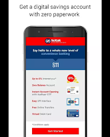 Online Bank Account Create Mobile Apps