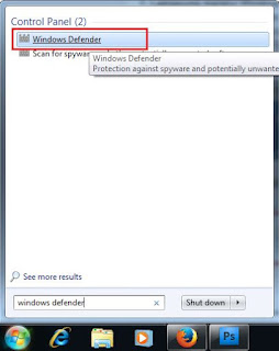 Cara mematikan Windows Defender pada Windows