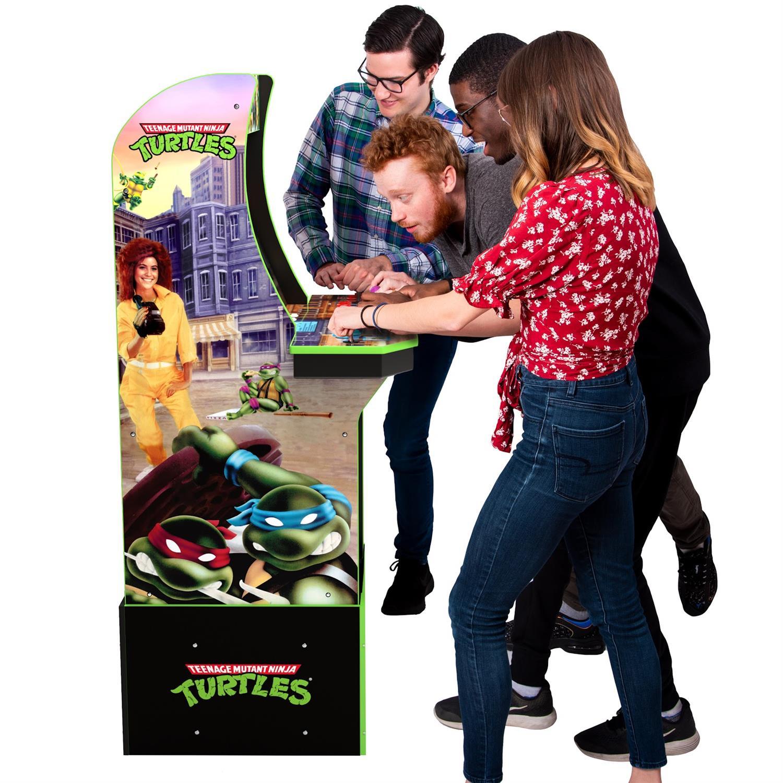 NickALive!: Arcade1Up Announces 'Konami Teenage Mutant Ninja Turtles