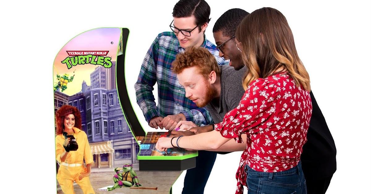 NickALive!: Arcade1Up Announces 'Konami Teenage Mutant Ninja