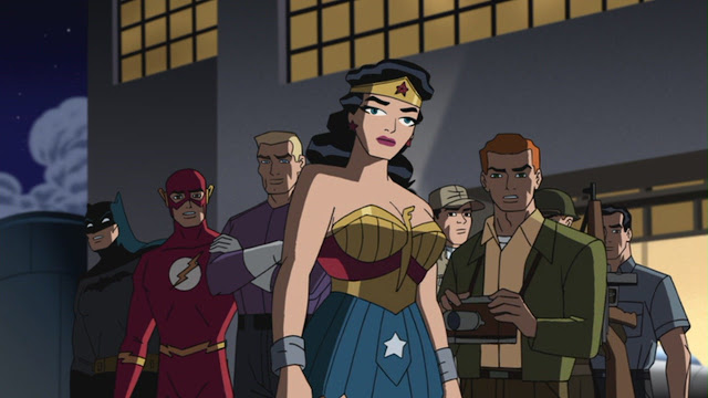 Wonder Woman The New Frontier