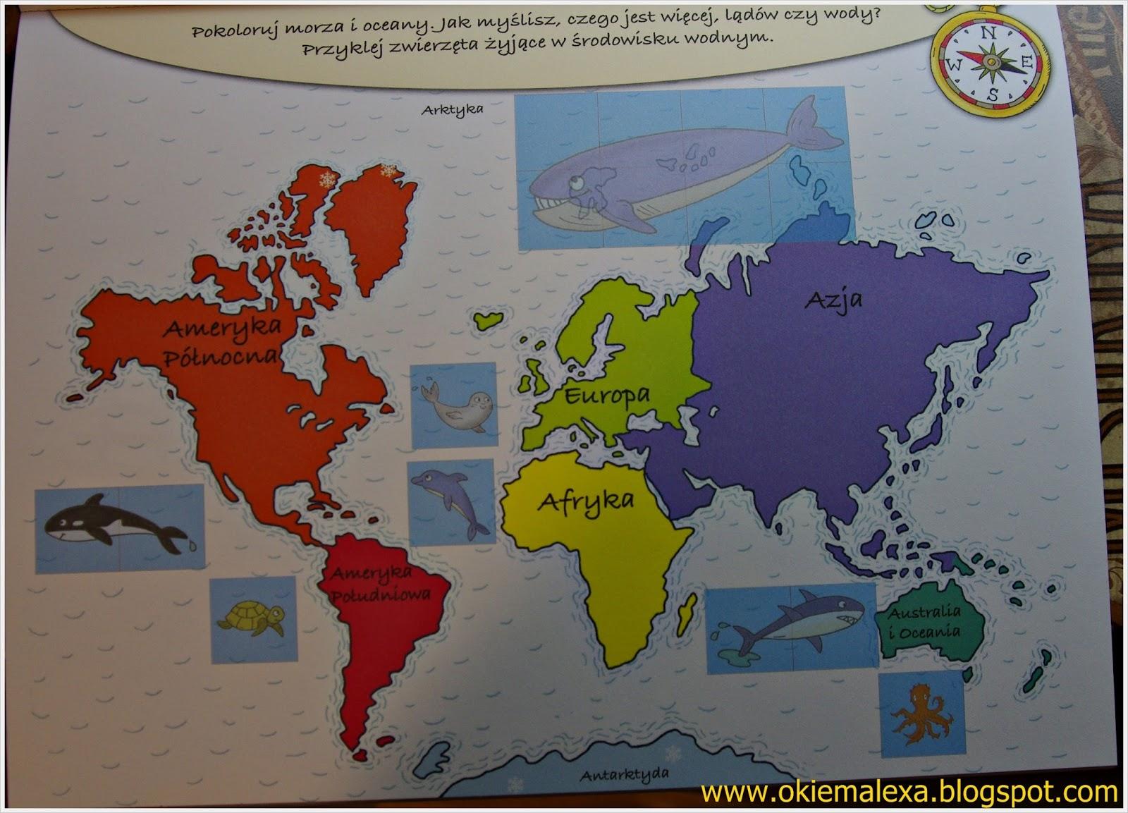 Klub Małych Podróżników, Mój pierwszy atlas