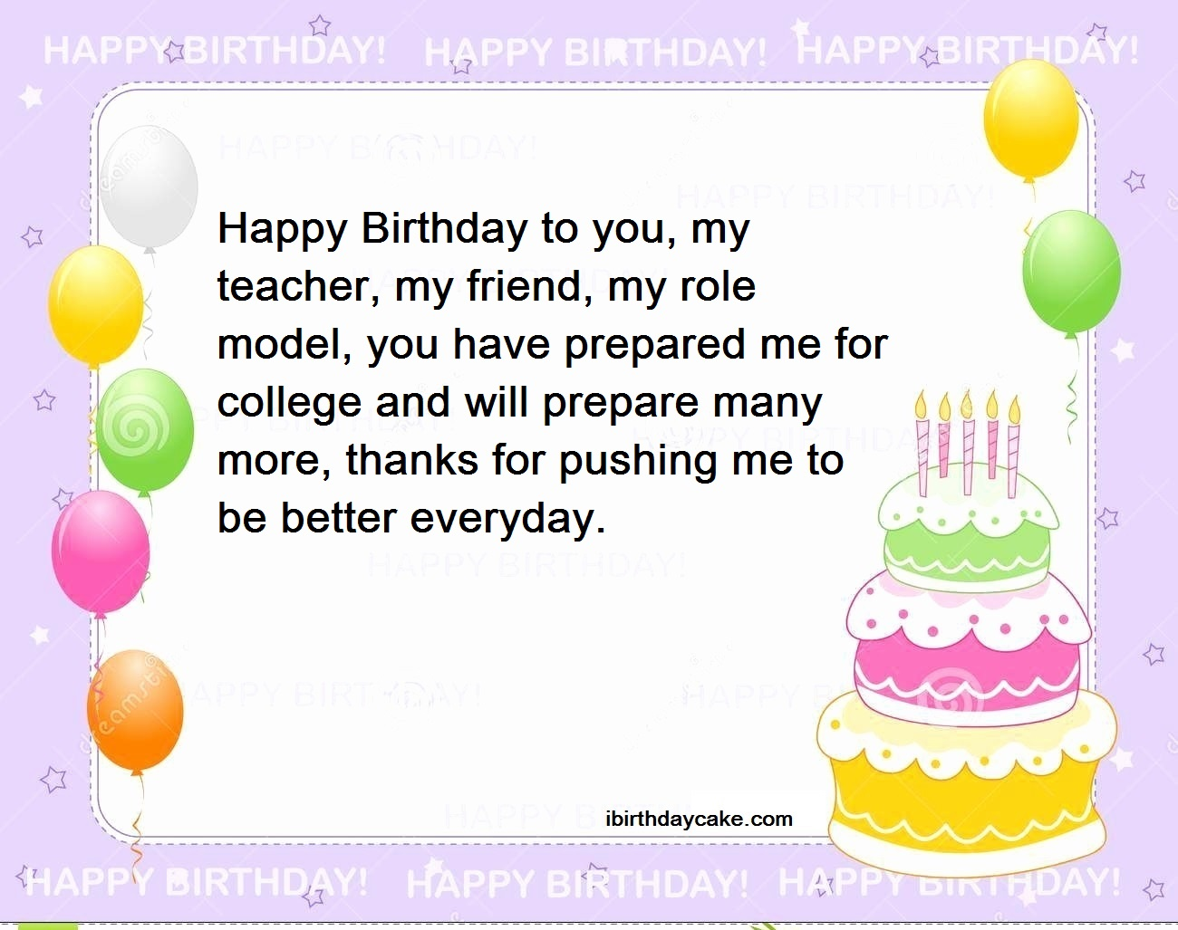 Super 100 Best Happy Birthday Wishes To Teacher 2019 Messages Personalised Birthday Cards Paralily Jamesorg