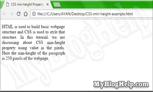 CSS-min-height-example