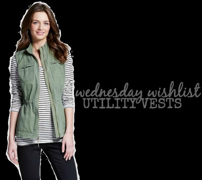 Wednesday Wishlist: Utility Vests | Something Good, utility vest, women's fashion, outfit, style