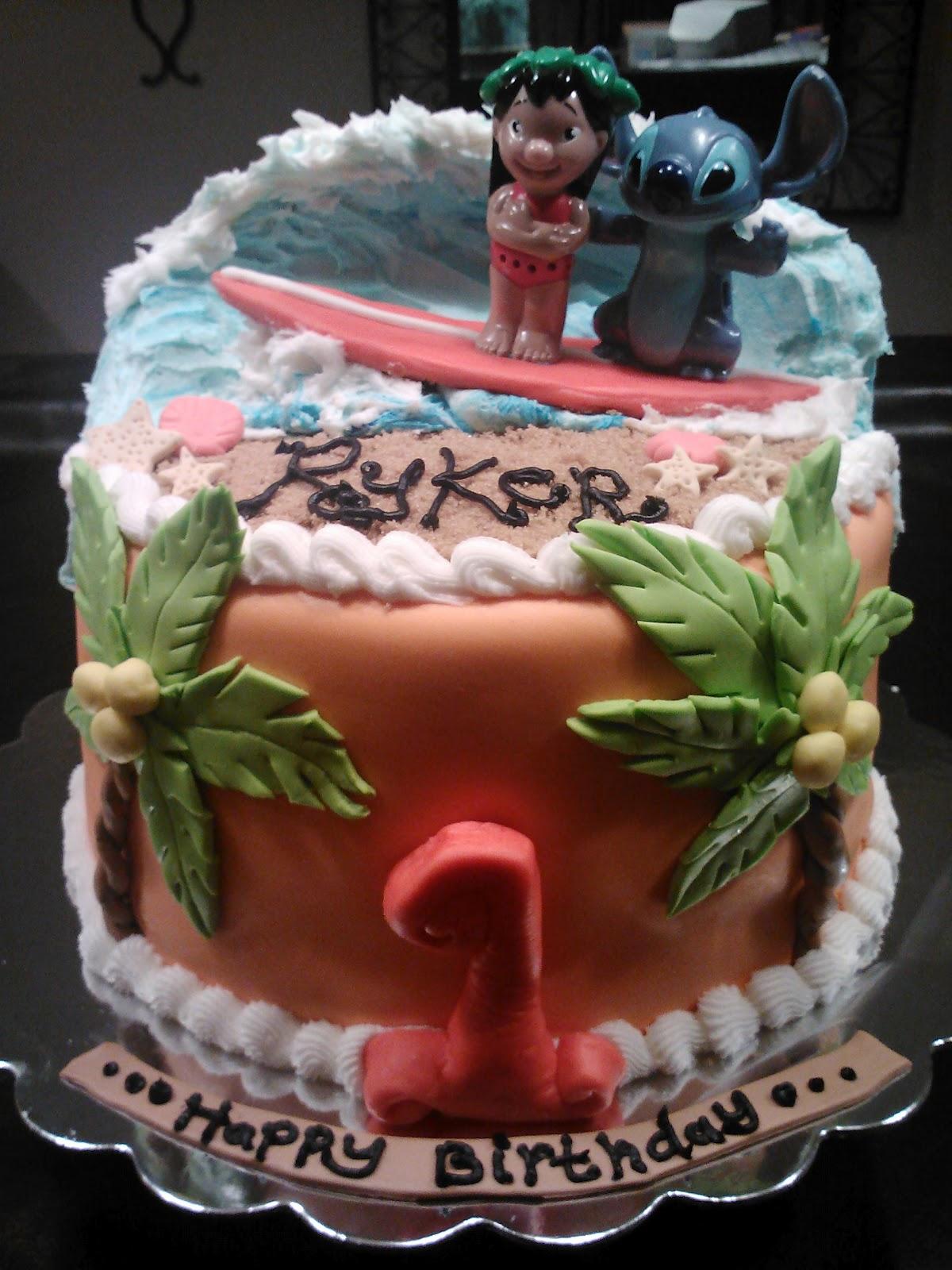 Patty Cakes Lilo Amp Stitch Cake