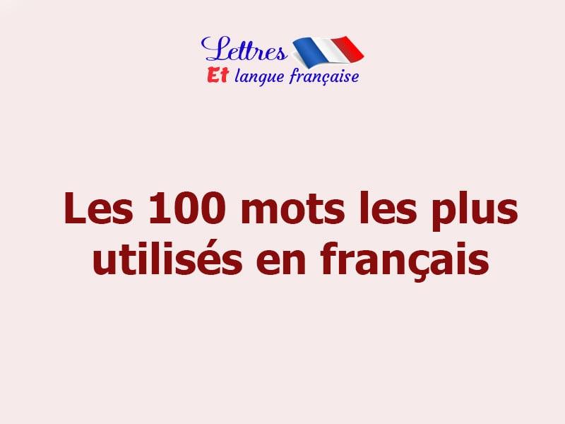 Liste de mots français