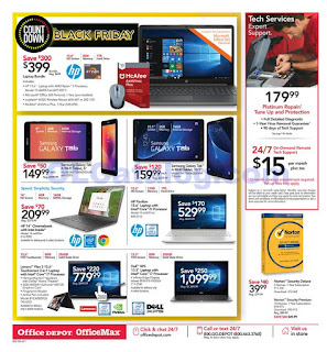Office Depot Weekly Ad November 18 - 24, 2018 Black Friday