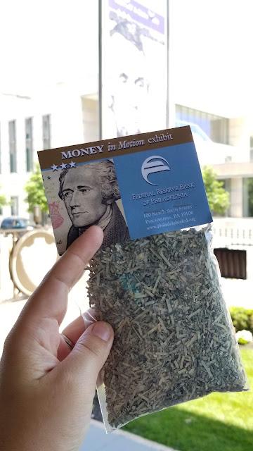 Federal Reserve Bank shredded Money