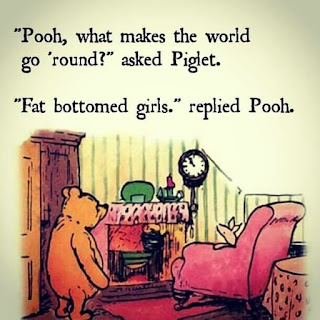 fat bottomed girls make the world go round