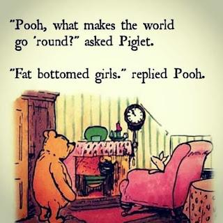 fat bottomed girls make the world go round