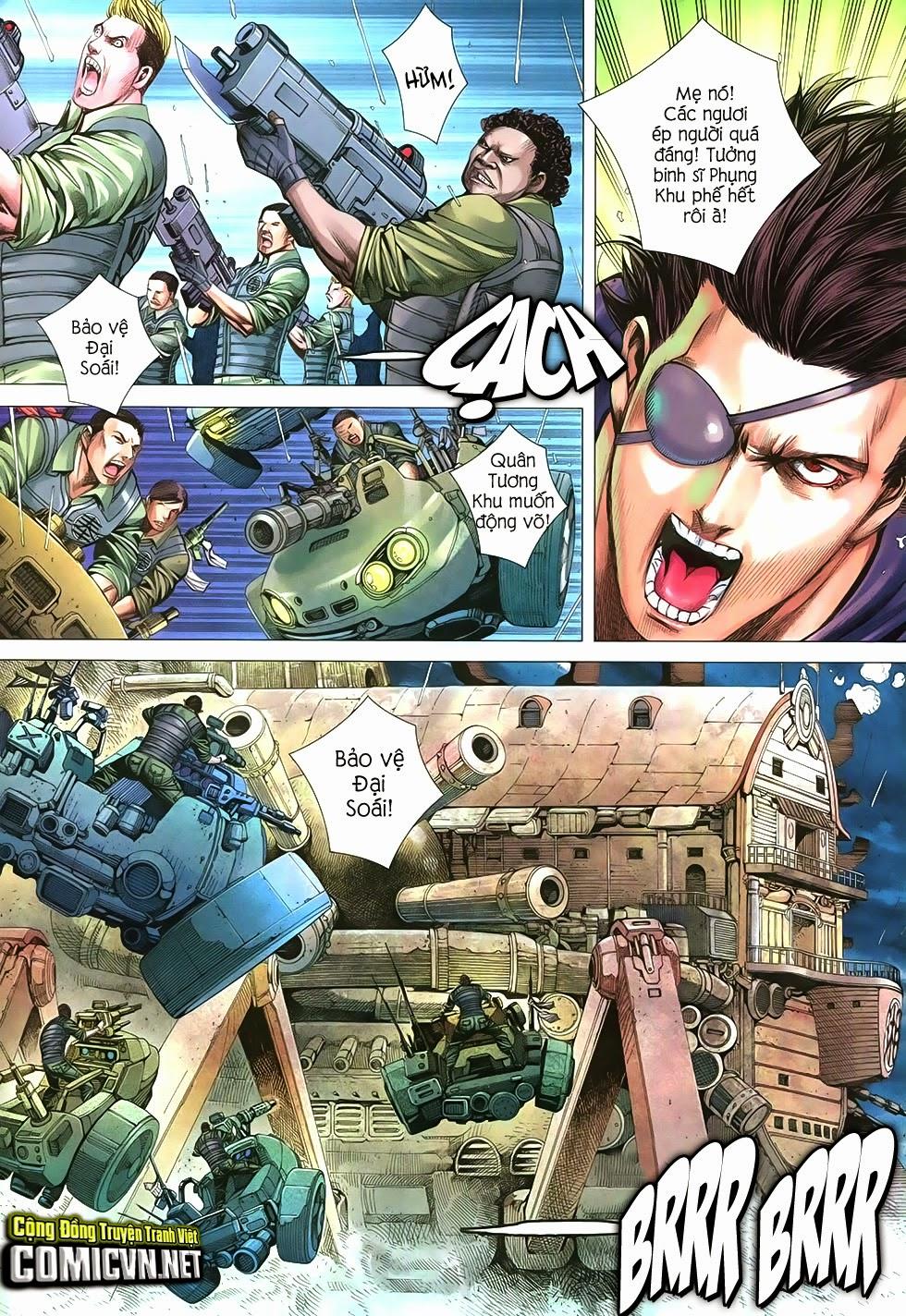 Đại Quân Phiệt chap 21 trang 3