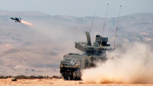 Israel abre fábrica de misiles antitanques en La India