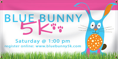 Bunny 5K Banner | Banners.com