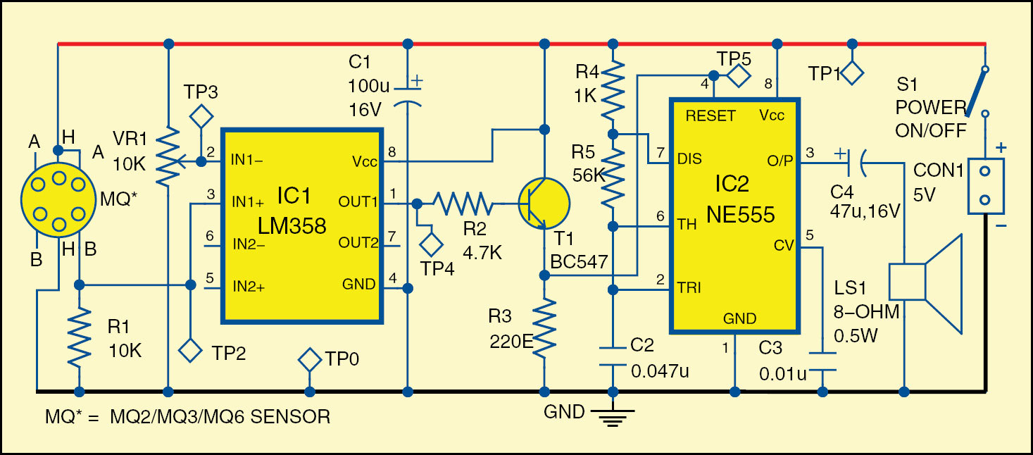 Electronic Project Circuit Schematic Design New Electronics Projects Diagram