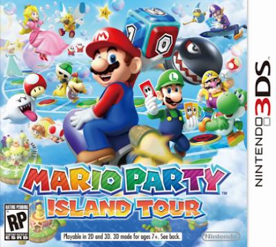 Mario Party Island Tour Decrypted 3DS USA