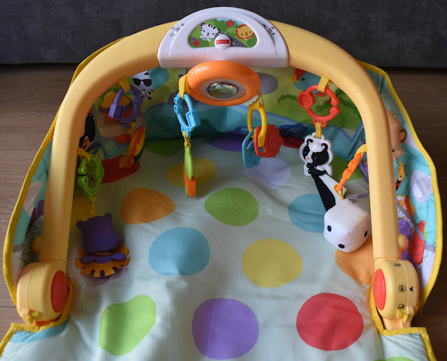 Fisher Price 3-in-1 Car Gym Sit and Move
