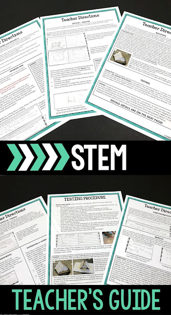 With so many options for STEM, how do you choose the best resources for your needs? This post will give you some tips and ideas on what to look for.  Search for the Engineering Design Process, detailed teacher's guides, photos of the challenge in use, lab sheets that follow the EDP, scoring rubrics, and editable forms! Your purchases are an investment!