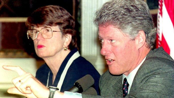 AG Janet Reno, Pres. Bill Clinton