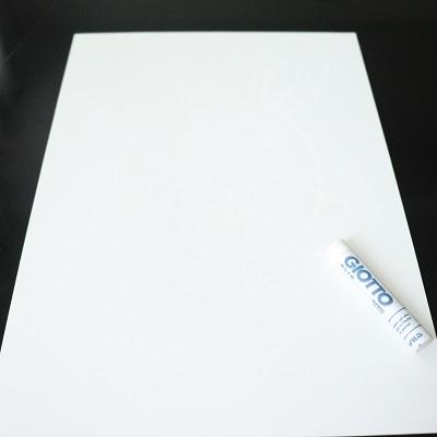 dessiner avec une craie grasse