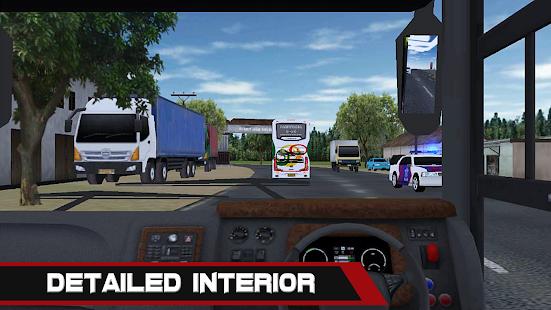 Bus Simulator Indonesia yang menduduki posisi puncak untuk kategori simulasi bus di google play.