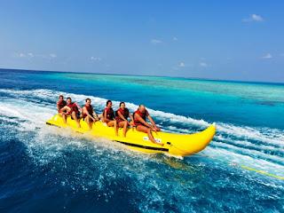 Dapatkan banana boat murah di Tanjung benoa Bali