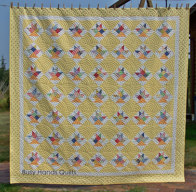 Busy Hands Quilts: Custom Queen 30s Basket Quilt | Finished or Not ... : basket quilt - Adamdwight.com