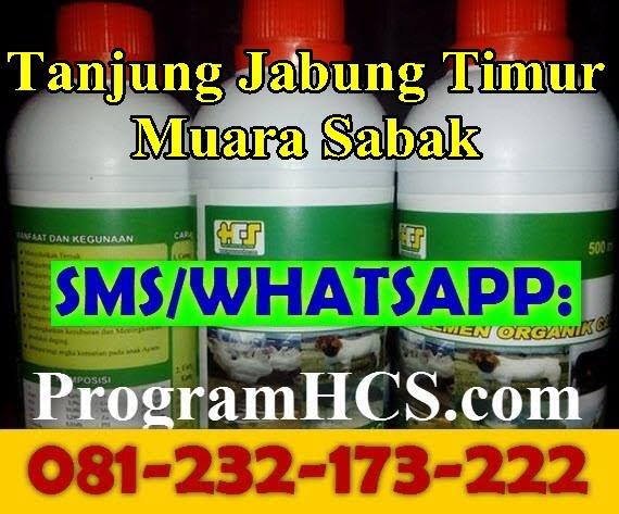 Jual SOC HCS Tanjung Jabung Timur Muara Sabak