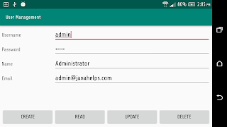 Access MySQL from Android through RESTful Web Service