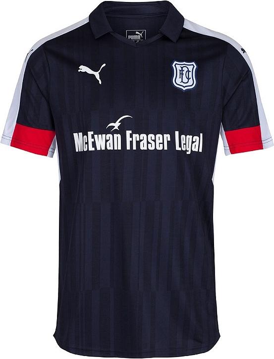 4d6ddfb3f1 Puma apresenta a nova camisa titular do Dundee - Show de Camisas