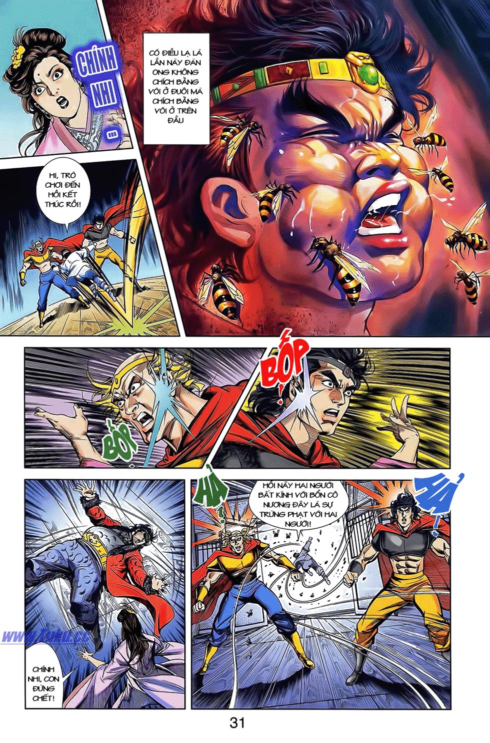 Tần Vương Doanh Chính chapter 12 trang 21