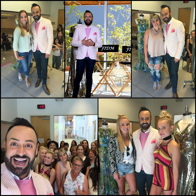 NICK VERREOS FIDM.....FIDM Orange County Open House 2016: Special Appearance BLOG RECAP!