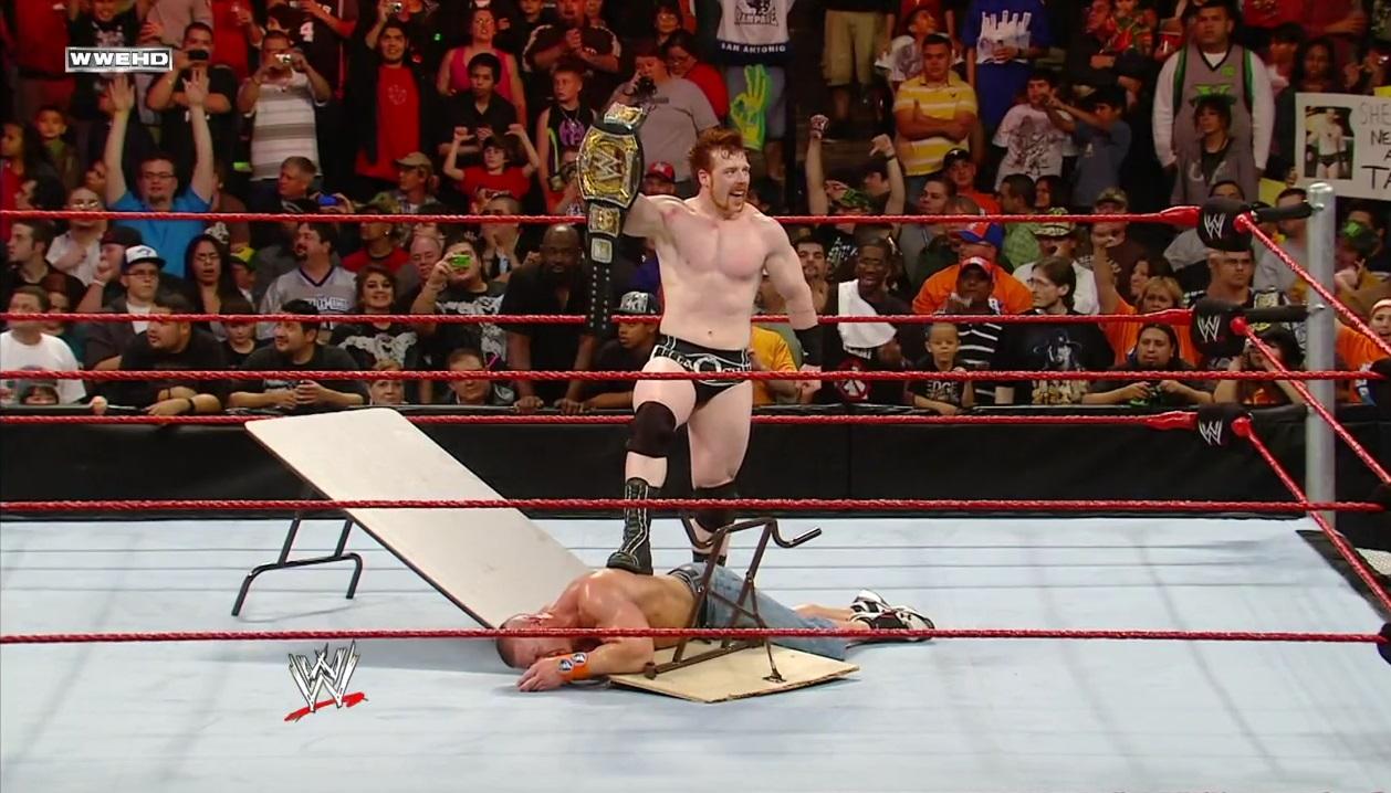 Rebel Random Ramblings: Wrestling Match of the Week: Sheamus vs ...