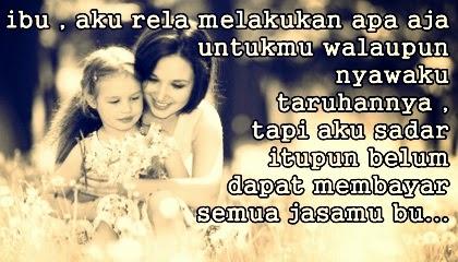 Gambar DP BBM Kata Kata Mutiara Ibu Tercinta