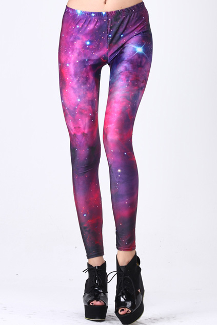 XxLaLaxX: Romwe Galaxy Legging Review