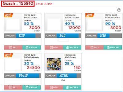 Cara menggunakan Web Shop LostSaga Indonesia