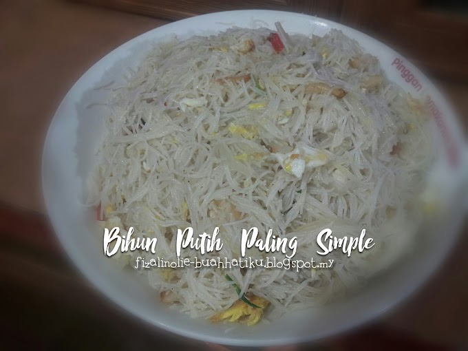 Bihun Putih Paling Simple