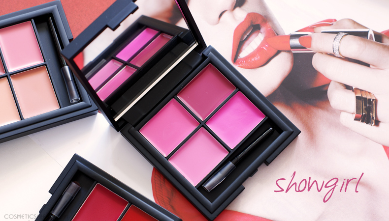 paleta pomadek sleek showgirl