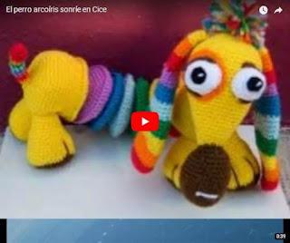video el perro arcoiris sonrie en CICE de Juan Jose