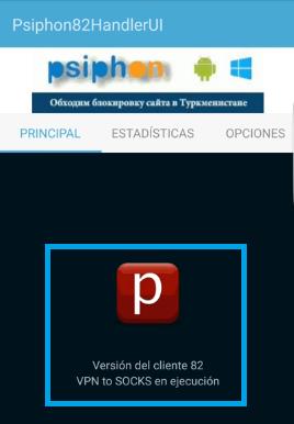 Configurar internet gratis Tigo con Psiphon 82 HandlerUI Colombia