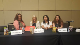Ladies of Love Inspired present at RWA