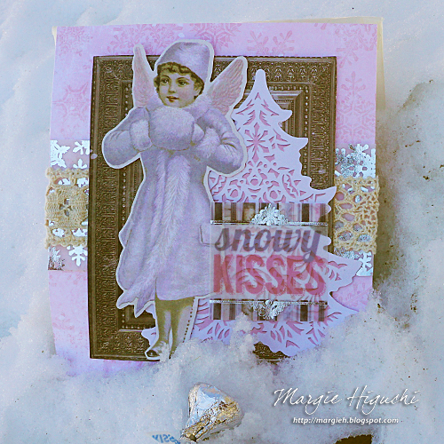 Scrapbook Adhesives by 3L: Snowy Kisses Gift Bag Tutorial