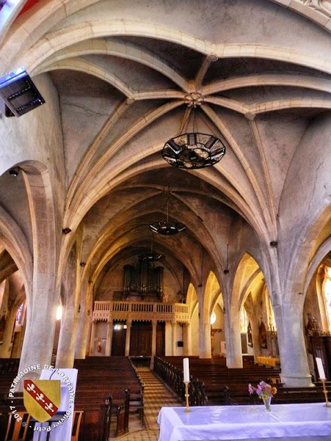 EULMONT (54) - Eglise Saint-Remy (XIVe-XIXe siècle)